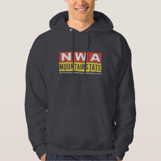 NWA Mountain State Logo Hoody