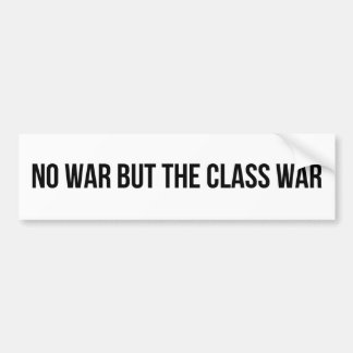 NWBTCW - Communist Socialist Revolution Politics Bumper Sticker