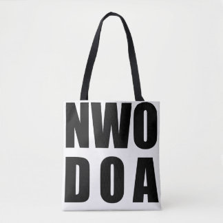 NWO D.O.A. Tote Bags - All Over Print 2-Sided 1