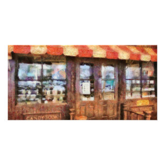 NY - 77 Water Street - Candy Store Customized Photo Card