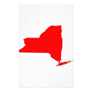 NY a Red State Custom Stationery