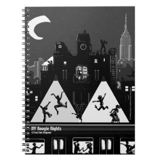 NY Boogie Nights Notebook