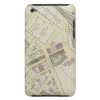 NY Boston & Providence Rail Road Map Barely There iPod Case