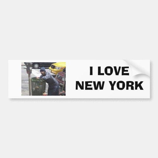 ny-bum00[1], I LOVE NEW YORK Bumper Sticker