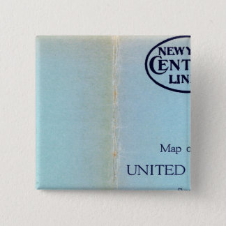 NY Central Lines 15 Cm Square Badge