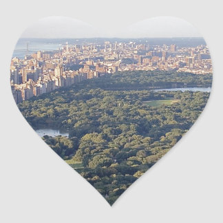 NY Central Park Heart Sticker
