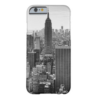 NY City Skyline Empire State Building WTC BW iPhone 6 Case