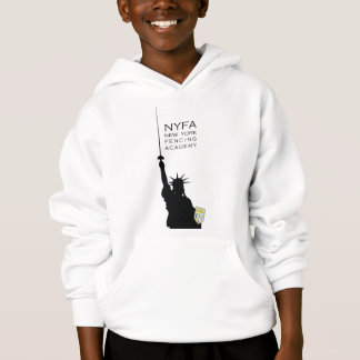 NY Fencing Statue of Liberty Kids' Hoodie