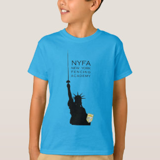 NY Fencing Statue of Liberty Kids Tee