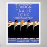 NY Foreign Trade Zone 1937 WPA