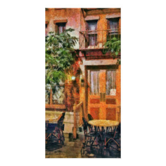NY - Hotel - A look at Greenwich Village Picture Card