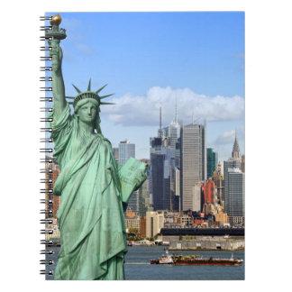 NY LIBERTY 1 NOTEBOOKS