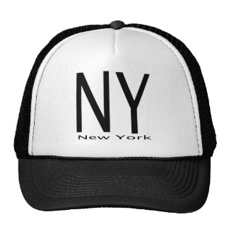 NY New York black Cap