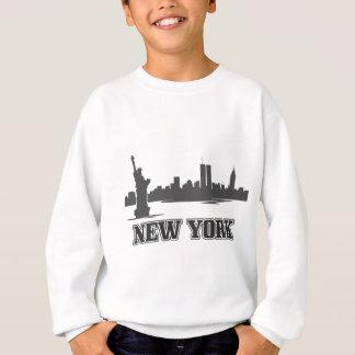 ny new york city retro vintage design sweatshirt