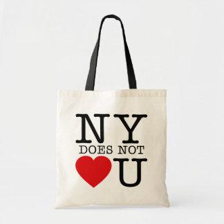 NY No Love Bags