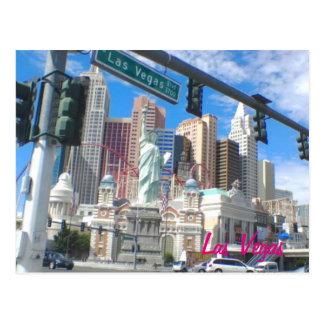 NY NY Las Vegas Blvd Postcard