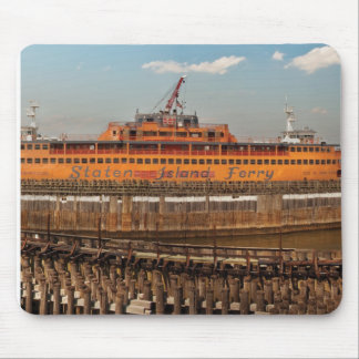 NY, NY - The Staten Island Ferry Mouse Pads