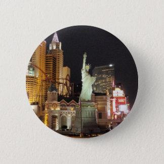 NY, NY - Vegas 6 Cm Round Badge