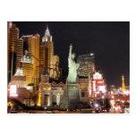 NY, NY - Vegas Postcard