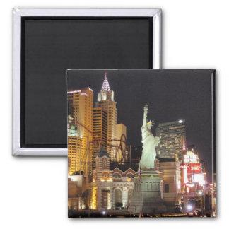 NY, NY - Vegas Square Magnet