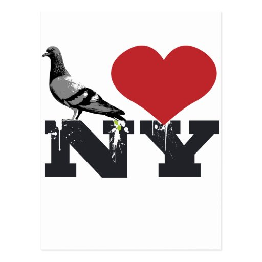 NY Pigeon Postcards