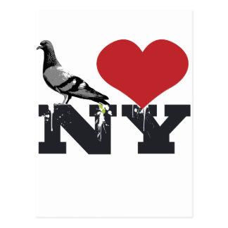 NY Pigeon Postcards