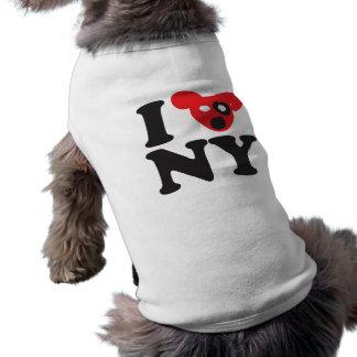 NY puppy Sleeveless Dog Shirt