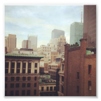 NY Skyline Photo Print