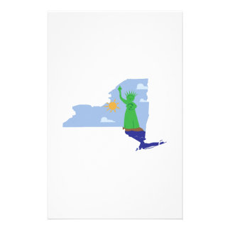 NY State Personalized Stationery