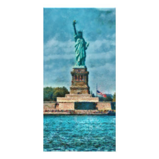 NY - The Statue of Liberty Photo Greeting Card
