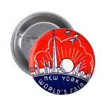NY World's Fair - Button