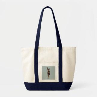 NYALA & VIOLET ANTLER OWL Bag
