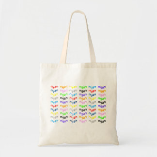 Nyan Cat Song In My Head Budget Tote Bag
