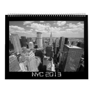 NYC 2013 Calendar