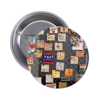 NYC 9-11 Memorial 6 Cm Round Badge
