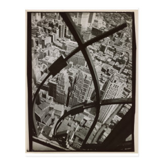 NYC Arabesque Photo by Berenice Abbott Postcard