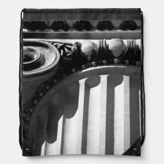 NYC Architecture III Drawstring Bag