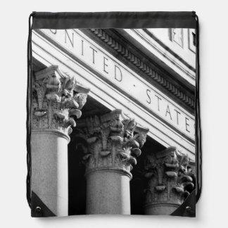 NYC Architecture VIII Drawstring Bag