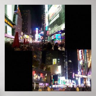 NYC at Night Print