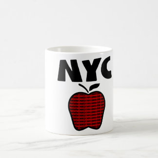 NYC - Big Apple With All 5 Boroughs Coffee Mug