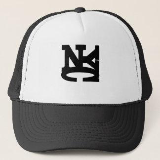 NYC BLACK TRUCKER HAT