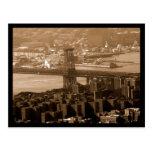 NYC Bridge Postcards