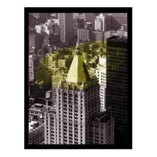 NYC Building Postcard