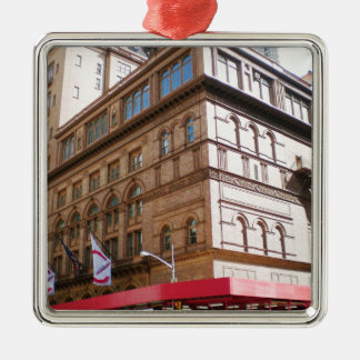 NYC Carnegie Hall Christmas Ornament