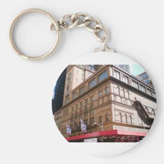 NYC Carnegie Hall Key Ring