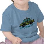 NYC chequered cab baby t-shirt