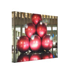 NYC Christmas Stretched Canvas Prints