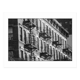 NYC Fire Escapes Postcard