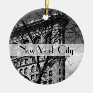 NYC Flat Iron Building Christmas Ornament