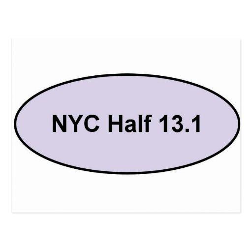NYC Half Pride Post Card